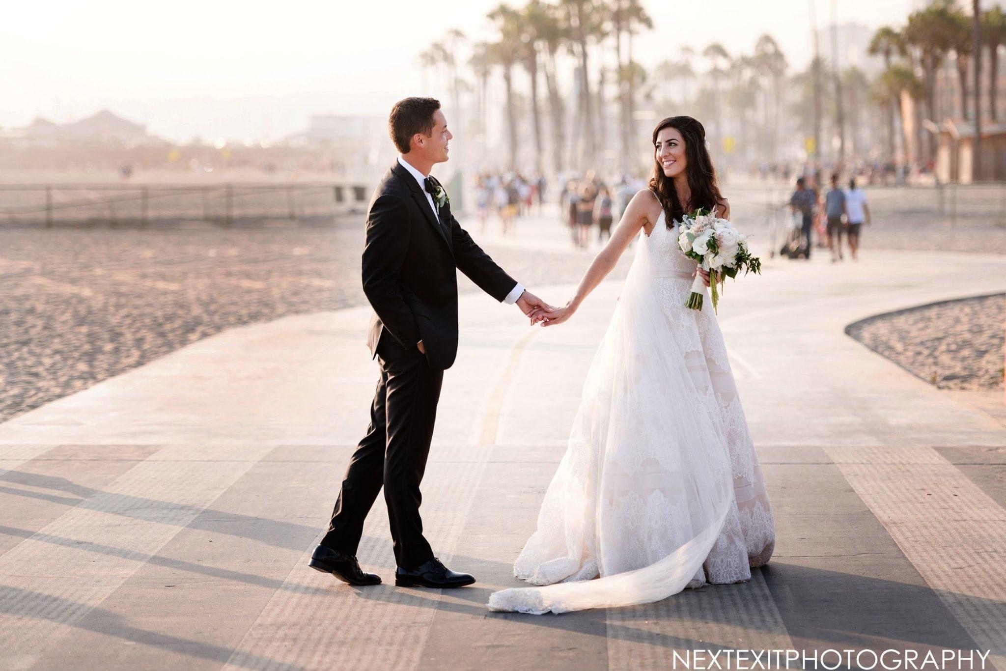 Casa Del Mar Beach Wedding Photographer